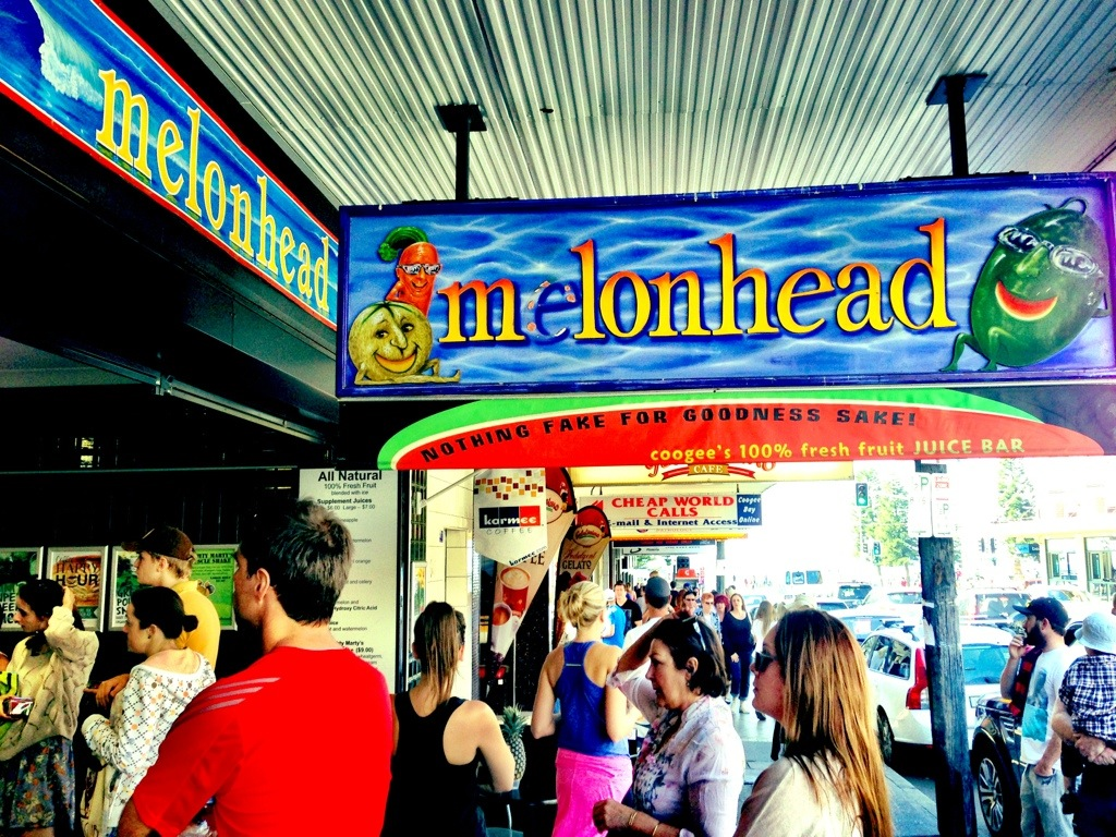 Melonhead in Coogee