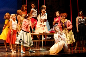 Gretel Scarlett (Sandy), Pink Ladies and Female Ensemble (c) Jeff Busby